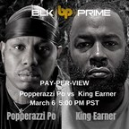 BLK PRIME Presents Exclusive Access To Popperazzi Po VS King Earner Celebrity Boxing Match