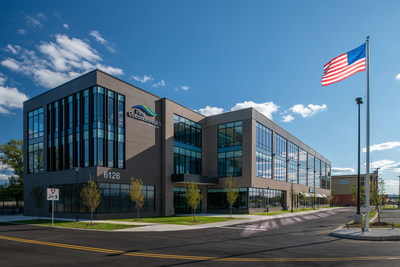 First Commonweath's new corporate headquarter campus on Hamilton Blvd in Lower Macungie Township boasts an 81,000 sq ft headquarters facility and new flagship 5,000 sq ft two-story financial center featuring a dedicated small business center.