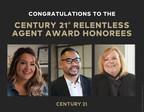 CENTURY 21 Unveils Q4 2020 Relentless Agent Awards Winners