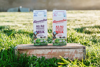 NEW: Alexandre Family Farm A2/A2 regenerative organic milk in cartons now available nationwide.  Milk for Humans - good for your body and the Earth!  The 1st certified regenerative organic dairy in the US.