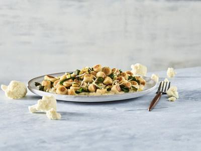 Noodles & Company's Cauliflower Gnocchi with Roasted Garlic Cream