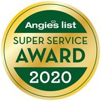 NexGen Exterior Home Remodeling Earns 2020 Angie's List Super Service Award