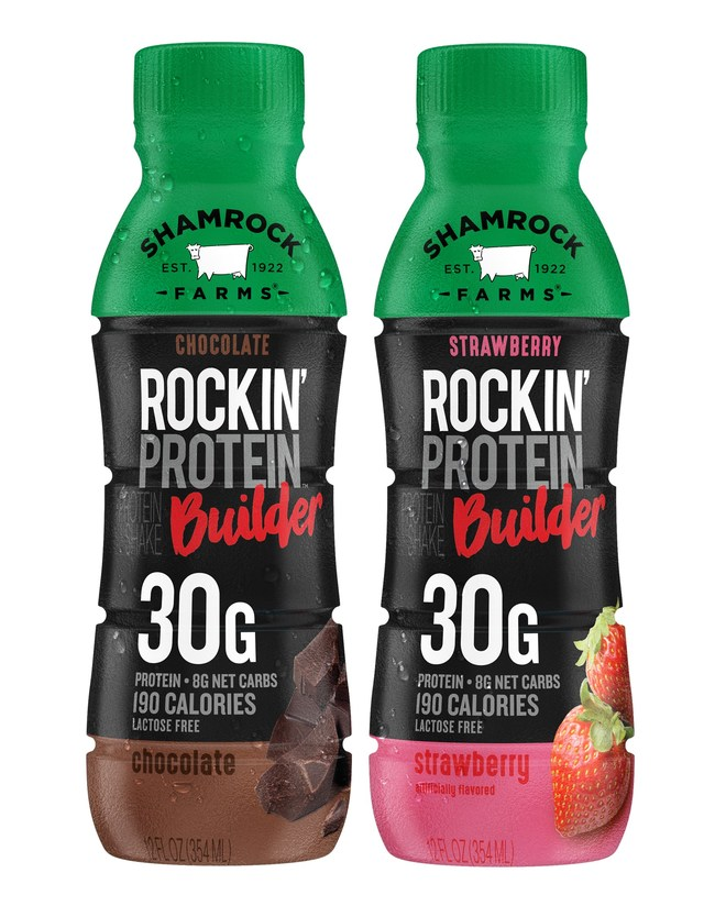 SHAMROCK FARMS® GREAT TASTING ROCKIN' PROTEIN NOW AVAILABLE IN KROGER STORES NATIONWIDE