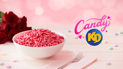 Kraft Dinner launches new Candy KD For Valentine's Day (CNW Group/Kraft Heinz Canada)