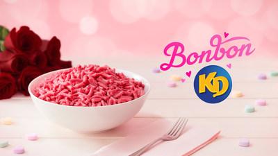 Kraft Dinner lance le nouveau Bonbon KD pour la Saint-Valentin (Groupe CNW/Kraft Heinz Canada)