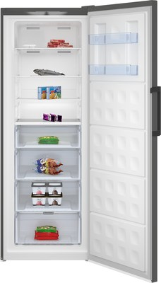 The award-winning, exquisitely designed Upright Freezer from Beko Appliances features Quick Freeze technology that locks in vitamins and nutrients by freezing food 10% faster.