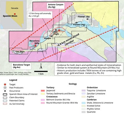 Figure 3. Local Geology (CNW Group/Navy Resources Corp.)