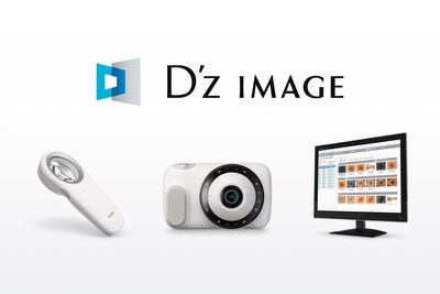 DZ-S50, DZ-D100 and D'z IMAGE Viewer screen (PRNewsfoto/CASIO COMPUTER CO., LTD)