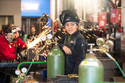 UTI students train hands-on in state-of-the-industry labs and graduate ready to work in a myriad of industries where trained welders are in strong demand.