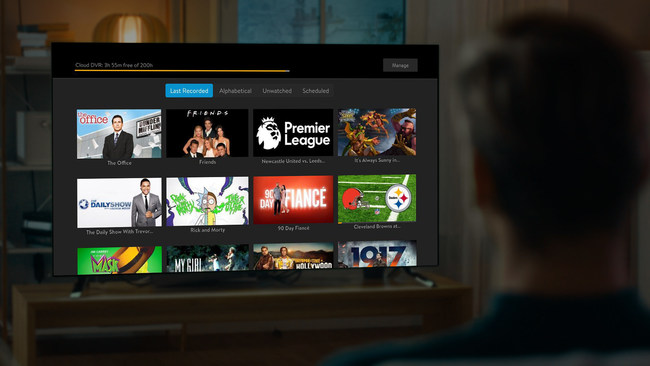"""All SLING TV customers can now enjoy 50 hours of free DVR storage, or upgrade to """"DVR Plus"""" for 200 hours of storage, for just $5 per month."""