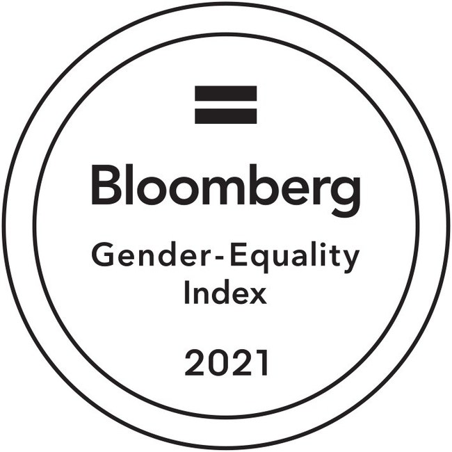 Bloomberg Gender-Equality Index 2021 Logo