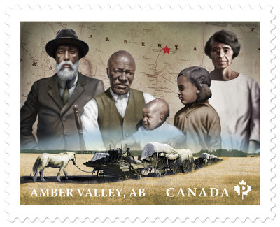 Amber Valley Stamp (CNW Group/Canada Post)