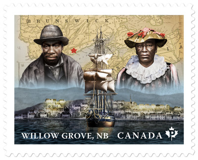 Willow Grove Stamp (CNW Group/Canada Post)