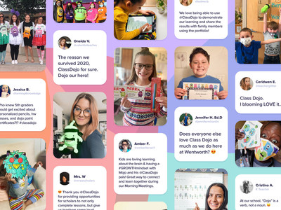 ClassDojo connects families and teachers.