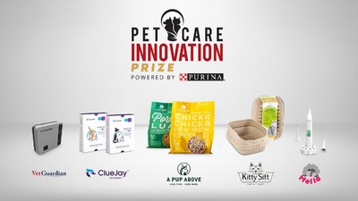 Five pet care startups from across the U.S. have been selected as the 2021 winners of the fifth annual Pet Care Innovation Prize powered by Purina.