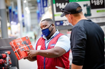 Lowe's is actively filling seasonal positions and permanent full-time and part-time roles at stores to help customers purchase essential products and services.