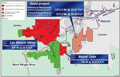 4. Acquisition du projet Kami (Groupe CNW/Champion Iron Limited)