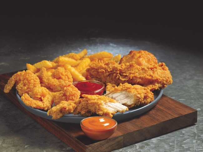 Church's Tenders 'N Shrimp meal is available for a limited time only at participating Church's restaurants, while supplies last.