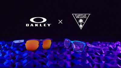 Exclusive Oakley x Turtle Beach Collection Optimizes Gaming's Two Most Important Senses – Sight and Sound