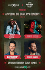 LiveXLive Partners With Seminole Hard Rock For An Exclusive Pay-Per-View Live Stream Music Event On Big Game Weekend