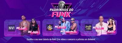 Mc Fioti, Mc Lan e Mc Alê juntos para promover os novos talentos do funk