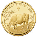 Celebrate Chinese New Year with The Royal Mint's Lunar Year of the Ox commemorative coin