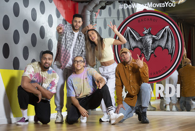 BACARDI® Rum recruits Alesha Dixon and Diversity amongst other talents to star in the First Official Remake Of The Global Hit Track 'CONGA'