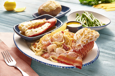 For every Lobster Lover's Dream® purchased during Lobsterfest®, Red Lobster® will contribute a portion of its proceeds towards lobster sustainability efforts.