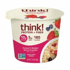 think! And Interpac Technologies, Inc., Issue Voluntary Recall And Allergy Alert On Undeclared Tree Nuts In think! Protein + Fiber Oatmeal, Farmer's Market Berry Crumble Products