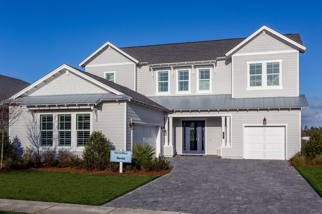 Kolter Homes' Venice model, one of five designer-decorated model homes featured at NatureWalk at Watersound Origins.