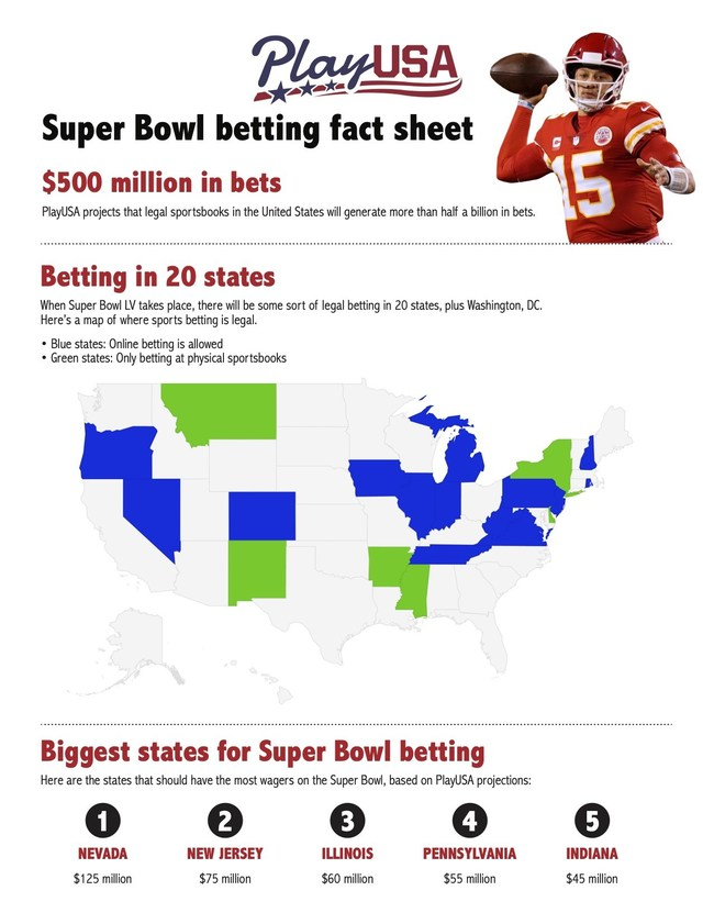 Super Bowl fact sheet