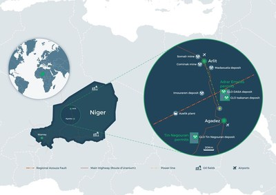 GLO map (CNW Group/Global Atomic Corporation)