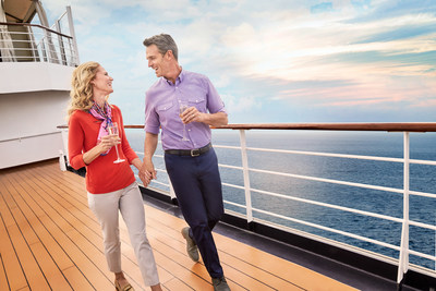 Holland America Line is enticing romantics to surprise their sweetheart with the gift of cruise travel this Valentine's Day with a Holland America Line gift card. A special promotion that runs Jan. 29 – Feb. 14, 2021 gives those that purchase a gift card an additional 10% bonus value.