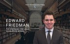 Edward Friedman Named the Recipient of The Dominguez Firm Spring 2021 Legal Scholarship