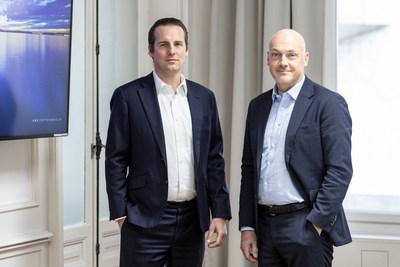 Jan Brzezek, Crypto Finance founder and CEO; Rupertus Rothenhaeuser, CEO, Crypto Broker AG.