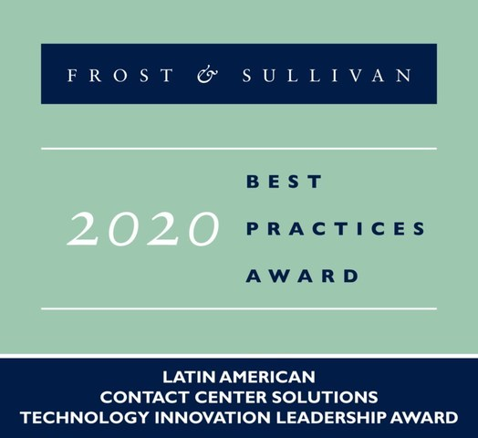 2020 Latin American Contact Center Solutions Technology Innovation Leadership Award