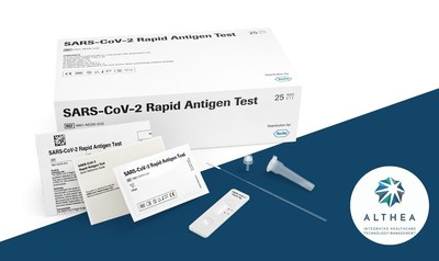 Althea launches affordable COVID-19 rapid antigen tests