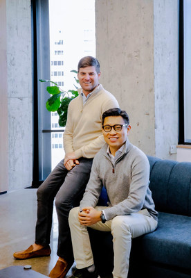 Workrise Co-Founder and Chief Operating Officer Mike Witte (L) and Co-Founder and Chief Executive Officer Xuan Yong (R)