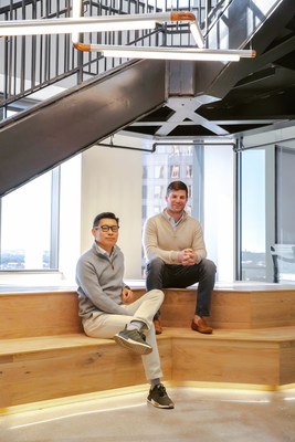 Workrise Co-Founder and Chief Executive Officer Xuan Yong (L) and Co-Founder and Chief Operating Officer Mike Witte (R)