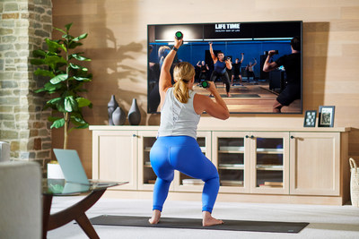 Life Time takes its iconic group fitness classes to a whole new level beginning today, February 1, 2021, as it ramps its live streaming efforts to a record-breaking more than 1,000 yoga, cycle and strength/cardio classes each week.