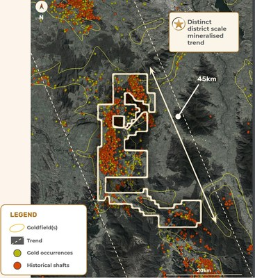 Figure 1 – Exploration License EL006724 – Myrtleford showing location of the Happy Valley drill target. (CNW Group/E79 Resources Corp.)