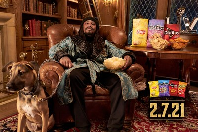 Frito-Lay Brings Legendary NFL Cast to Super Bowl Sunday Commercial, including Peyton and Eli Manning, Marshawn Lynch, Deion Sanders and Many More
