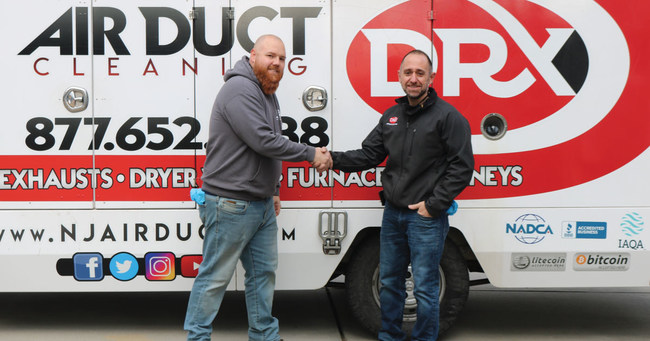 DRX Duct Cleaning in New Jersey announces new partnership.