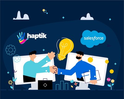 Haptik integrates with Salesforce Service Cloud to enable Intelligent Virtual Assistants