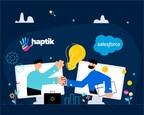 Haptik integrates with Salesforce Service Cloud to enable Intelligent Virtual Assistants