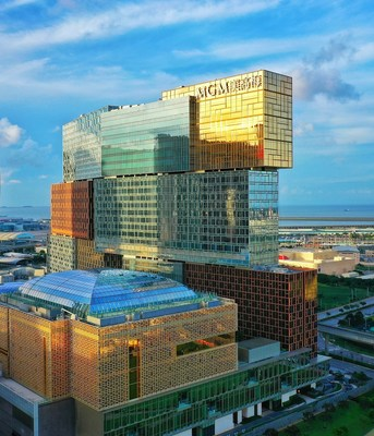 01 MGM COTAI has become the only mega complex and hotel in Macau to gain three-star certification in both Green Building Design and Operation Label, as well as the first hotel in the Greater Bay Area and second in Greater China to receive the certifications.