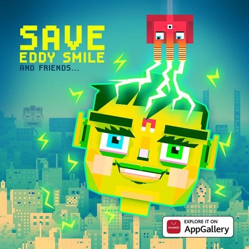 Save Eddy Smile chega à AppGallery (PRNewsfoto/AppGallery)