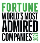 TE Connectivity earns FORTUNE 'World's Most Admired Companies' ranking for fourth year