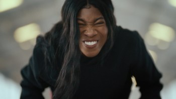 Nina Saunders' PROFACE in the Oikos PRO Super Bowl ad