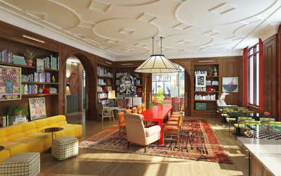 Rendering of Virgin Hotels New Orleans slated to open this summer. Photo: Virgin Hotels